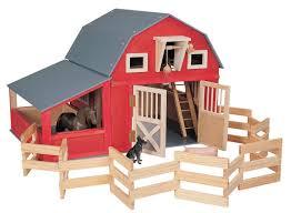 Toy Barn With Farm Animals Barn Toys Terra Toys Wooden Horse Barn Farm Animals Review Emily
