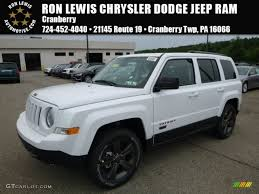 dodge jeep white 2017 bright white jeep patriot 75th anniversary edition 4x4