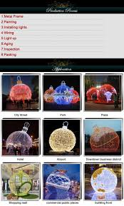 Lighted Outdoor Christmas Balls Lighted Ball Outdoor Christmas Decoration Giant Lighting White Led