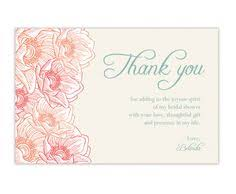 best creaticity thank you card bridal shower awesome template