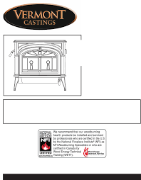 vermont casting stove 2550 user guide manualsonline com