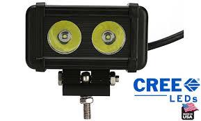 american made led light bar led light bar with bracket 2 x 10 watt cree led made in usa 1700