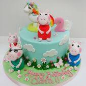peppa pig cakes peppa pig birthday cakes peppa pig cakes cakes by robin
