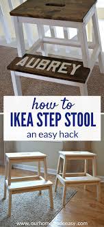 ikea step stool rroom me easy ikea bekvam stool hack our home made easy