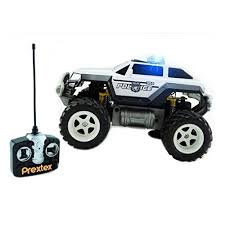 remote control police car with lights and siren prextex remote control monster police truck radio control police car