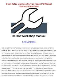 buell xb9sx service manual pdf u2013 idea di immagine del motociclo