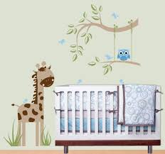 White Tree Wall Decal For Nursery by Wall Decals For Nursery Boy Wall Mount Doll Shelf Flower And