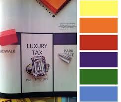 Luxury Color Palette This Week U0027s Color Palette Jewel Tones Little Blue Dish