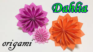 origami flower easy tutorial for beginners how to make a paper