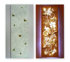 paint led christmas lights created using pre stretched canvas paper for stencils white