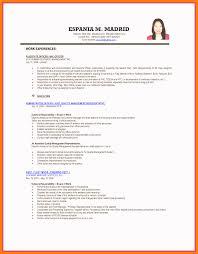 format of resume resume skills format embersky me