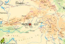 Map Spain Map Of Madrid Spain Imsa Kolese