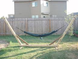 Diy Portable Hammock Stand Backyard Hammock Stand Diy Backyard Hammock And Swing U2013 The