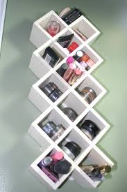 Wall Storage Ideas by 12 Practical Makeup Storage Ideas For The Stylish Woman Small