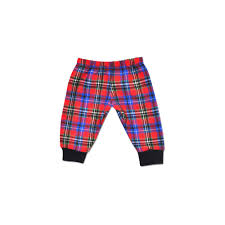 Perfectly Preemie Christmas Plaid Pants