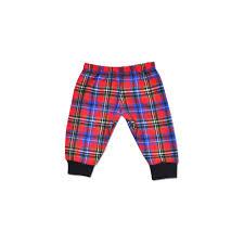 Perfectly Preemie Christmas Plaid Pants