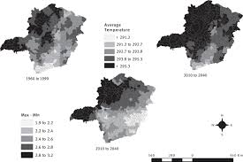 population transitions and temperature change in minas gerais