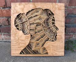 laser minimize wooden aid sculptures modern movements to