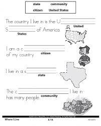 social studies for 1st grade worksheets worksheets