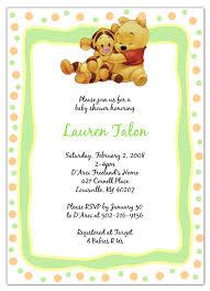 free winnie the pooh baby shower invitations winnie the pooh ba