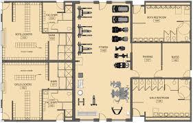 fitness center floor plan lexington christian academy fitness center