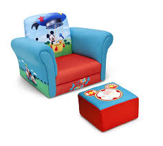 Toddler Recliner Chair Delta Children Upholstered Chair With Ottoman Disney