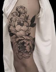 black flowers tattoo tattoo body art and tatoos