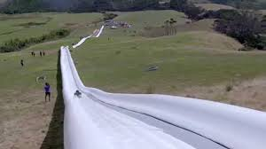 the world u0027s longest waterslide by live more awesome youtube