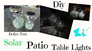 Patio Table Lights Diy Dollar Tree Solar Patio Table Lights