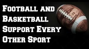 football and basketball financially support every other sport