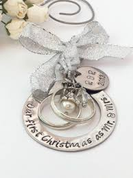personalized wedding christmas ornaments personalized wedding christmas ornament gift for new our