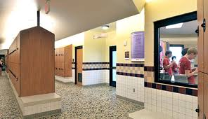 Trends In Locker Room Design Architects Denver  Dallas  Award - Family changing room