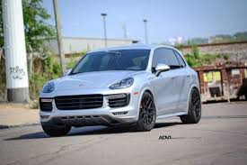 porsche suv black porsche cayenne archives adv 1 wheels