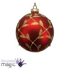 Gisela Graham Christmas Decorations Wholesale by Gisela Graham Glass Bauble Ball Hanging Christmas Tree Decoration