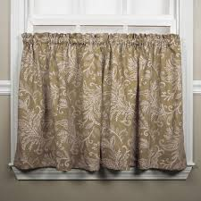 Fabric Shower Curtains With Valance Floating Leaves Print Fabric Shower Curtain Window Toppers