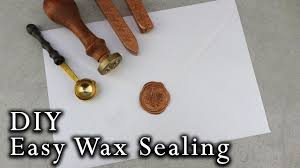 how to wax seal envelopes diy wedding invitations youtube