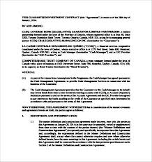 doc 600650 business investment agreements u2013 sample business