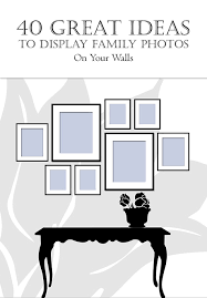 ideas for displaying pictures on walls 40 great ideas to display family photos on your walls