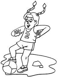 soccer player coloring pages coloring