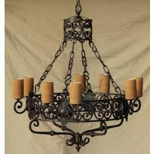 Forged Chandeliers Lights Of Tuscany Forged Wrought Iron Browse By Style