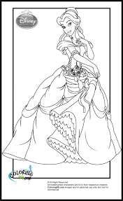 disney princess coloring pages the sun flower pages