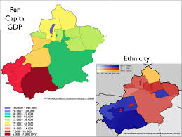 Population Map Of China by April 2013 Archives Geocurrents