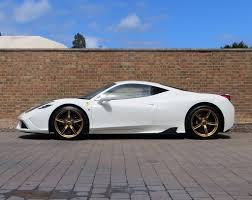 gold ferrari wallpaper one of a kind ferrari 458 speciale is up for sale do you fancy a