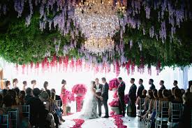 hanging flowers wedding decor inspiration mid south bride