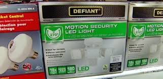 defiant led motion security light manual defiant motion sensor light manual defiant motion activated led