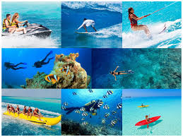 enjoy a number of water sports in paradise island maldives