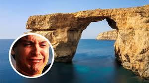 Azure Window Stages Of Mourning The Azure Window Lovin Malta