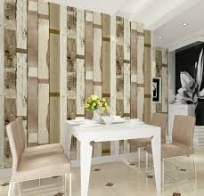 livingroom wallpaper haokhome vintage multiple stripe vinyl wood pvc wallpaper rolls