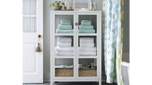 bathroom storage crate and barrel bathroom cabinet crate and