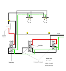 motion detector wiring diagram outdoor motion sensor light wiring
